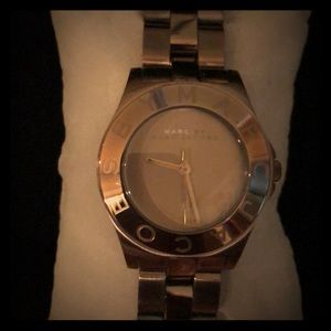 MARC by Marc Jacobs Chocolate Gold Watch